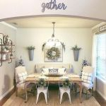 51 Farmhouse Wall Decor Ideas for Dinning Room (51)