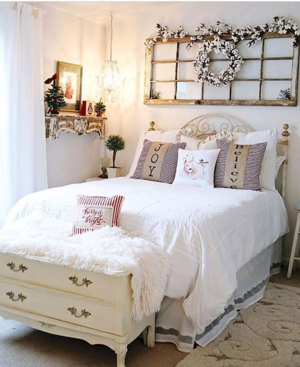 53 Farmhouse Wall Decor Ideas for bedroom (13)