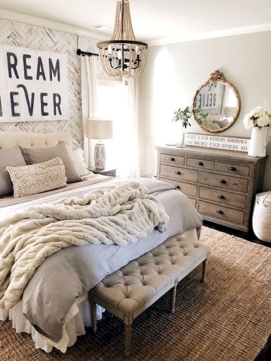 53 Farmhouse Wall Decor Ideas for bedroom (21)