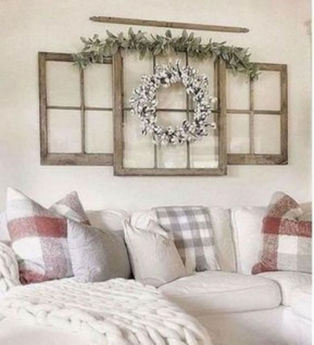 53 Farmhouse Wall Decor Ideas for bedroom (36)