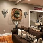 75 Best Farmhouse Wall Decor Ideas for Living Room (46)