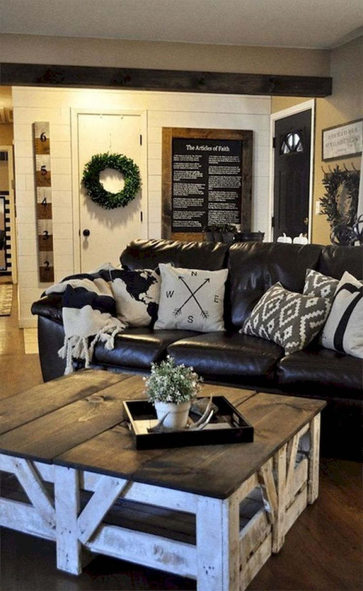 75 Best Farmhouse Wall Decor Ideas for Living Room (53)