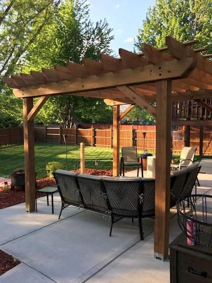 The Best Idea for Farmhouse Pergola (8)