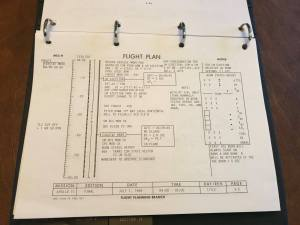 After liftoff and in orbit, the plan shifts to one hour pages. On this page, you see that if there was a problem, the plan had a branch that would eject the lunar module and burn to prepare for an abort. Certainly glad this was never used in the program.