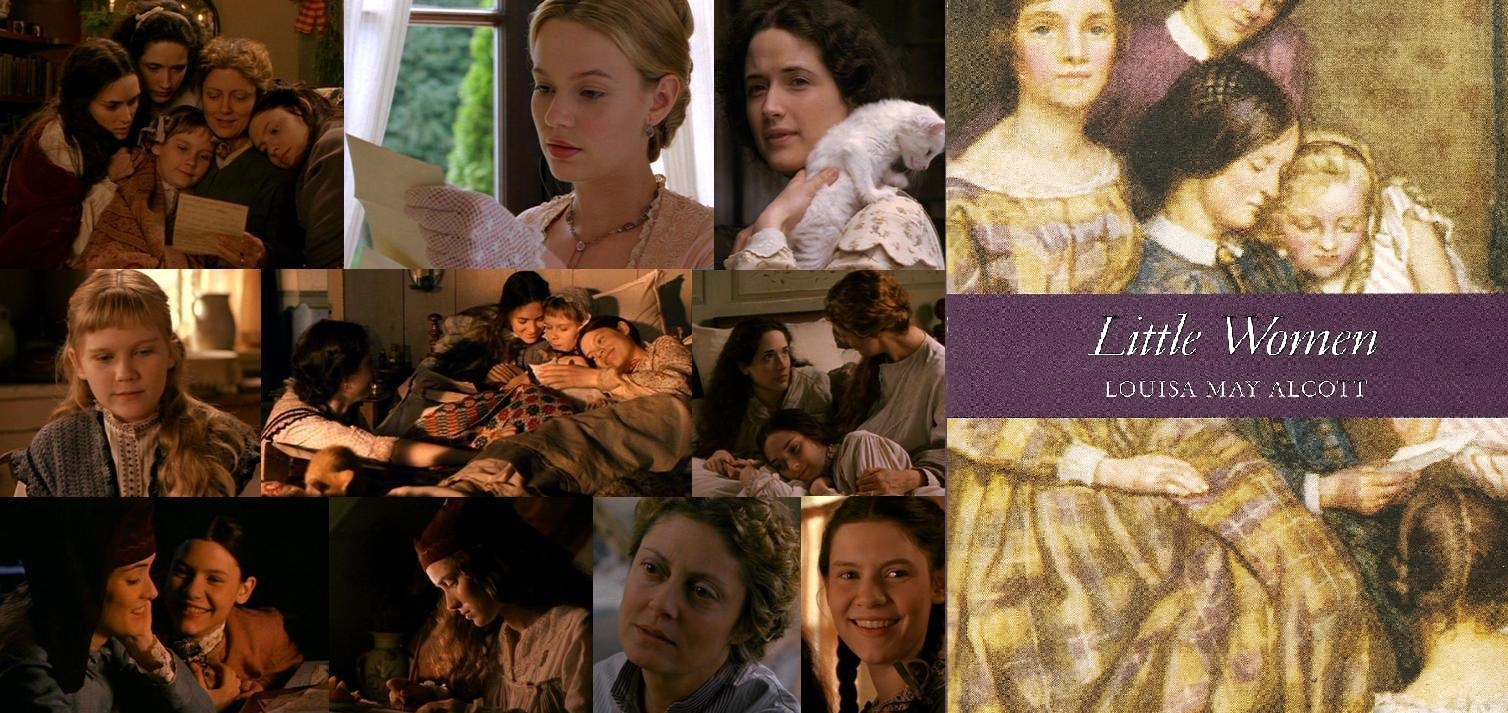 LITTLE WOMEN by American author Louisa May Alcott