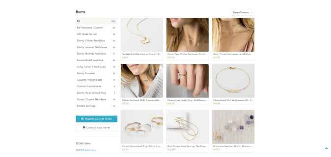 Layered And Long Jewelry Shop