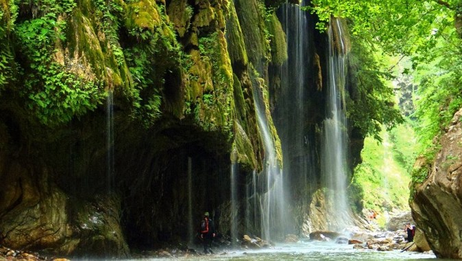 Always Raining Canyon, near Karpenisi