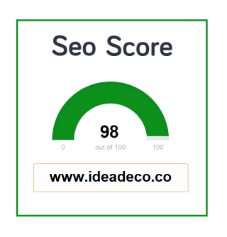Ideadeco SEO Score