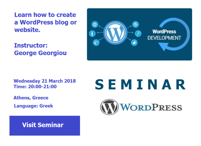 WordPress Development Seminar