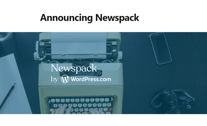 Google and WordPress Create Newspack