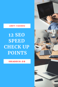 12 SEO Speed Check Up Points