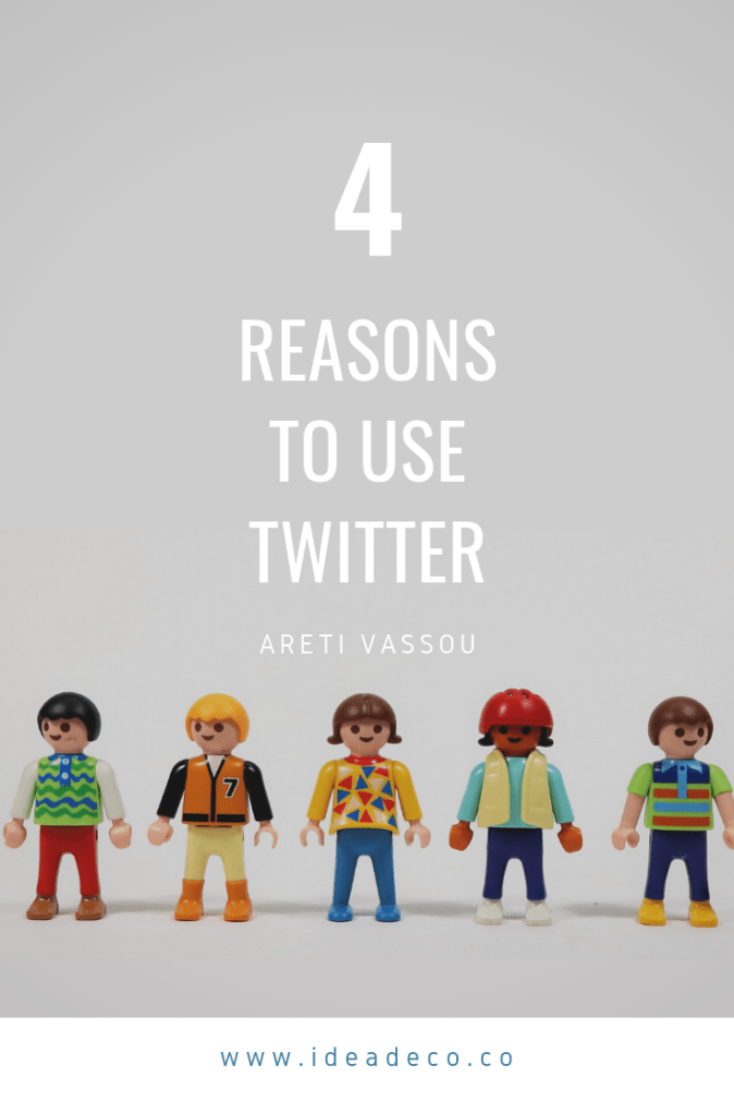 4 Reasons to Use Twitter - Areti Vassou