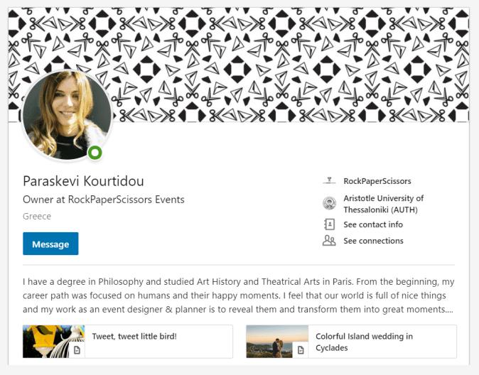 Paraskevi Kourtidou LinkedIn