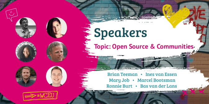 WordCamp Europe 2019 Speakers, Open Source & Communities