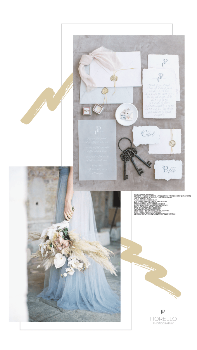 Luxury Elopement at Imaret Hotel Kavala by Fiorello Photography
