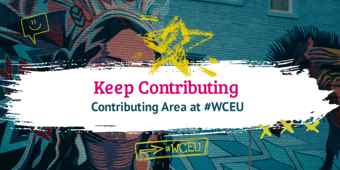 Make use of the Contributing Area #WCEU