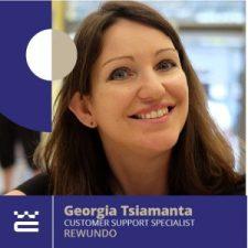 Speaker Georgia Tsiamanta WordCamp Thessaloniki 2019