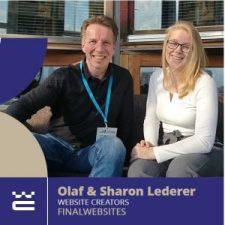 Speaker Olaf & Sharon Lederer WordCamp Thessaloniki 2019