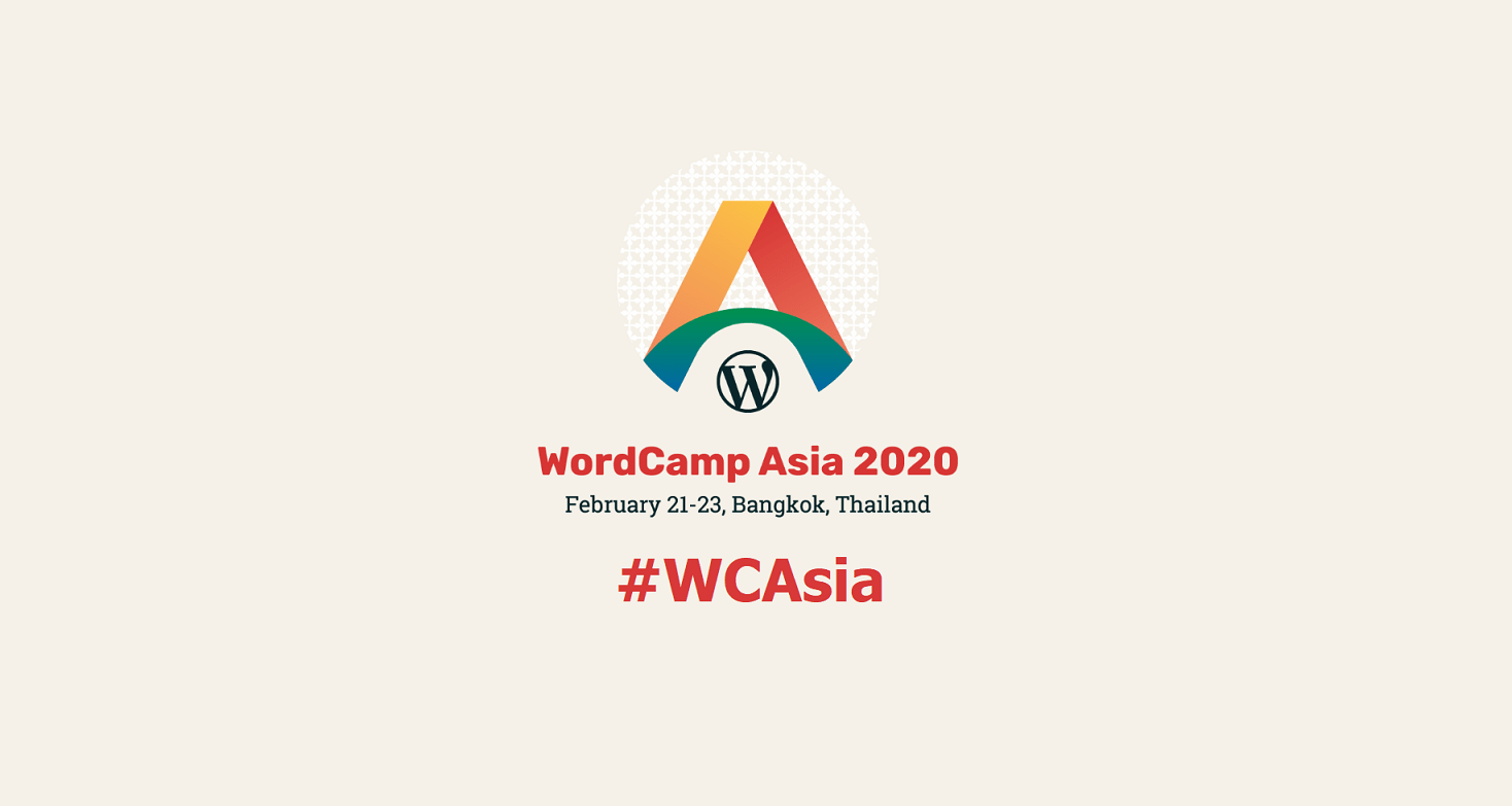 Join WordCamp Asia 2020 #WCAsia