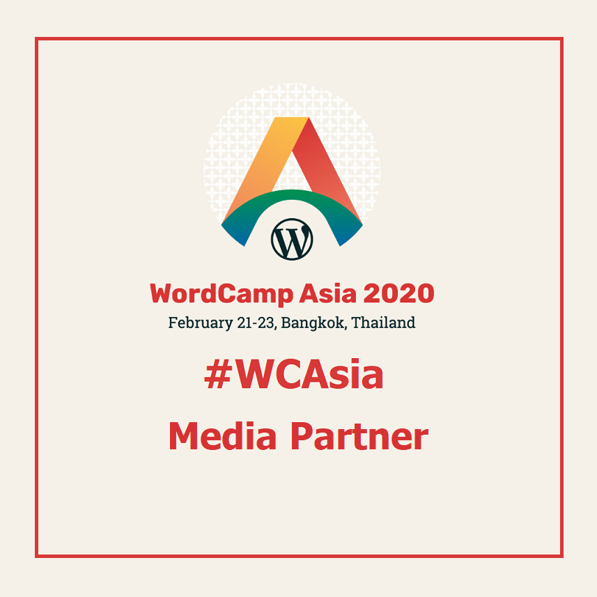 Proud Media Partner WordCamp Asia 2020 #WCAsia