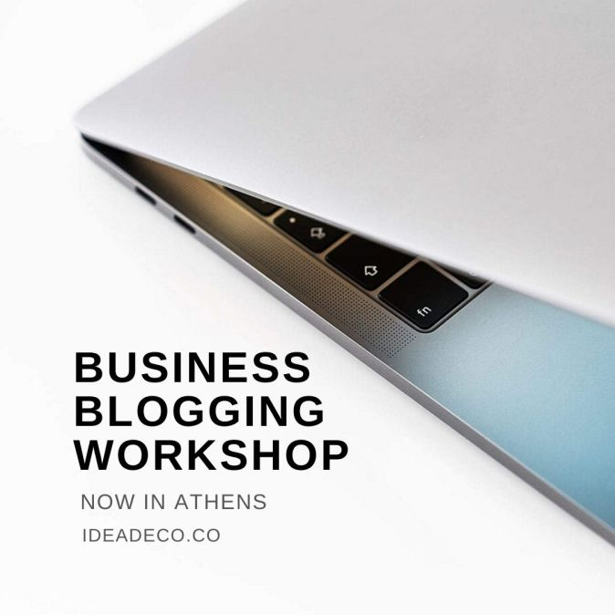Business Blogging Workshop for Content Creators