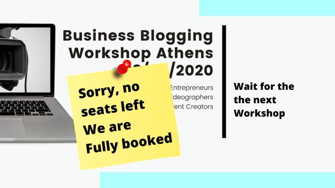 We are fully booked - Wait for the next workshop