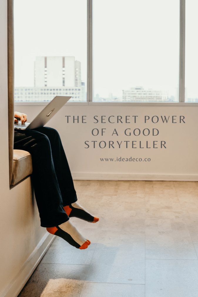 The secret power of a good storyteller is the truth