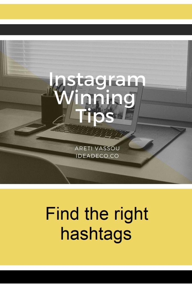 Instagram Winning Tips by Areti Vassou
