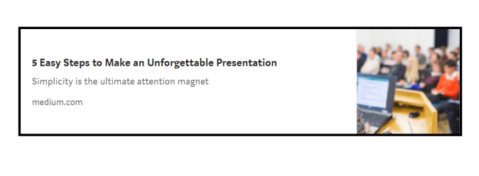 5 easy steps to make an unforgettable presentation by Areti Vassou