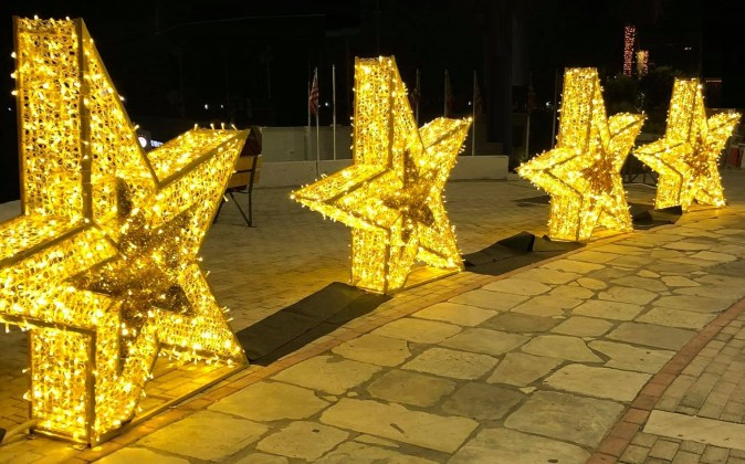 Stars of Platia Alexandras in Piraeus