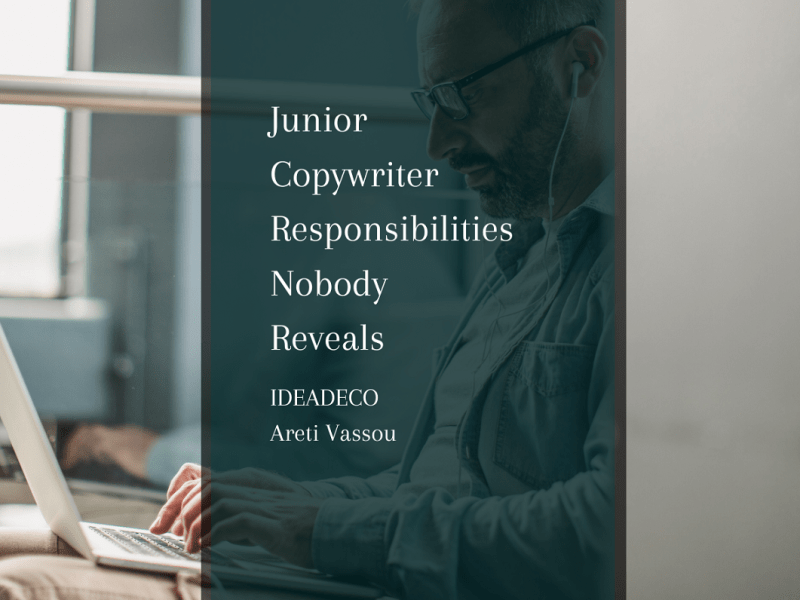 What are the Responsibilities of a Junior Copywriter