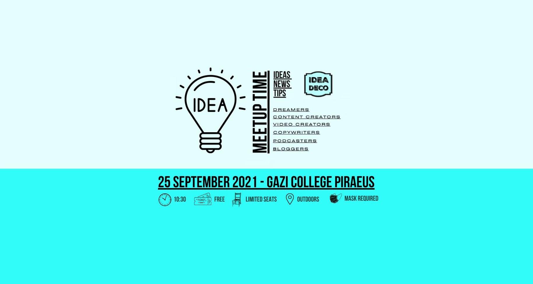 Content Creators Coffee Meetup in Piraeus by Areti Vassou IDEADECO