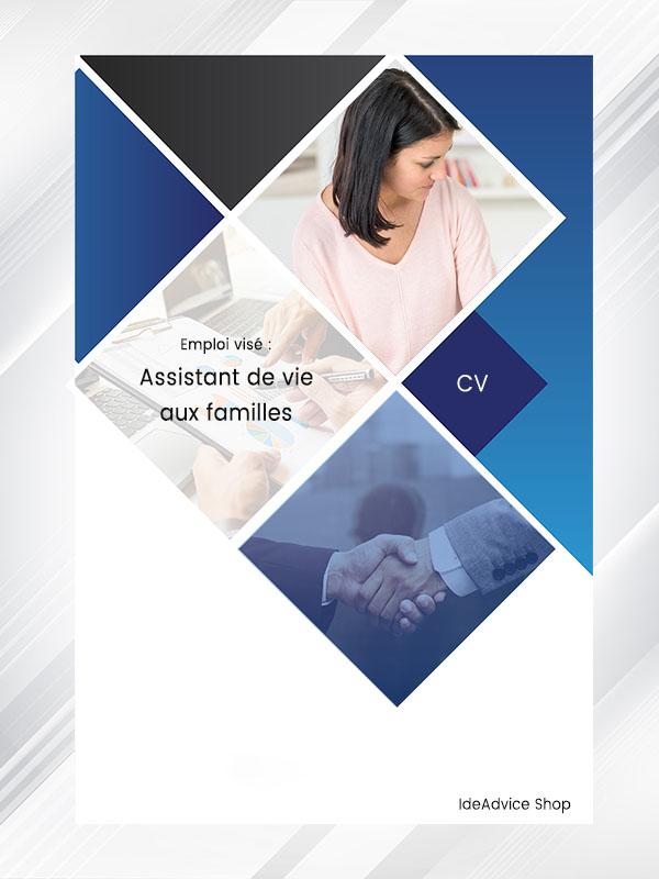 Modele Cv Assistant De Vie Aux Familles