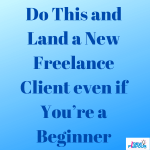 do this and get new clients