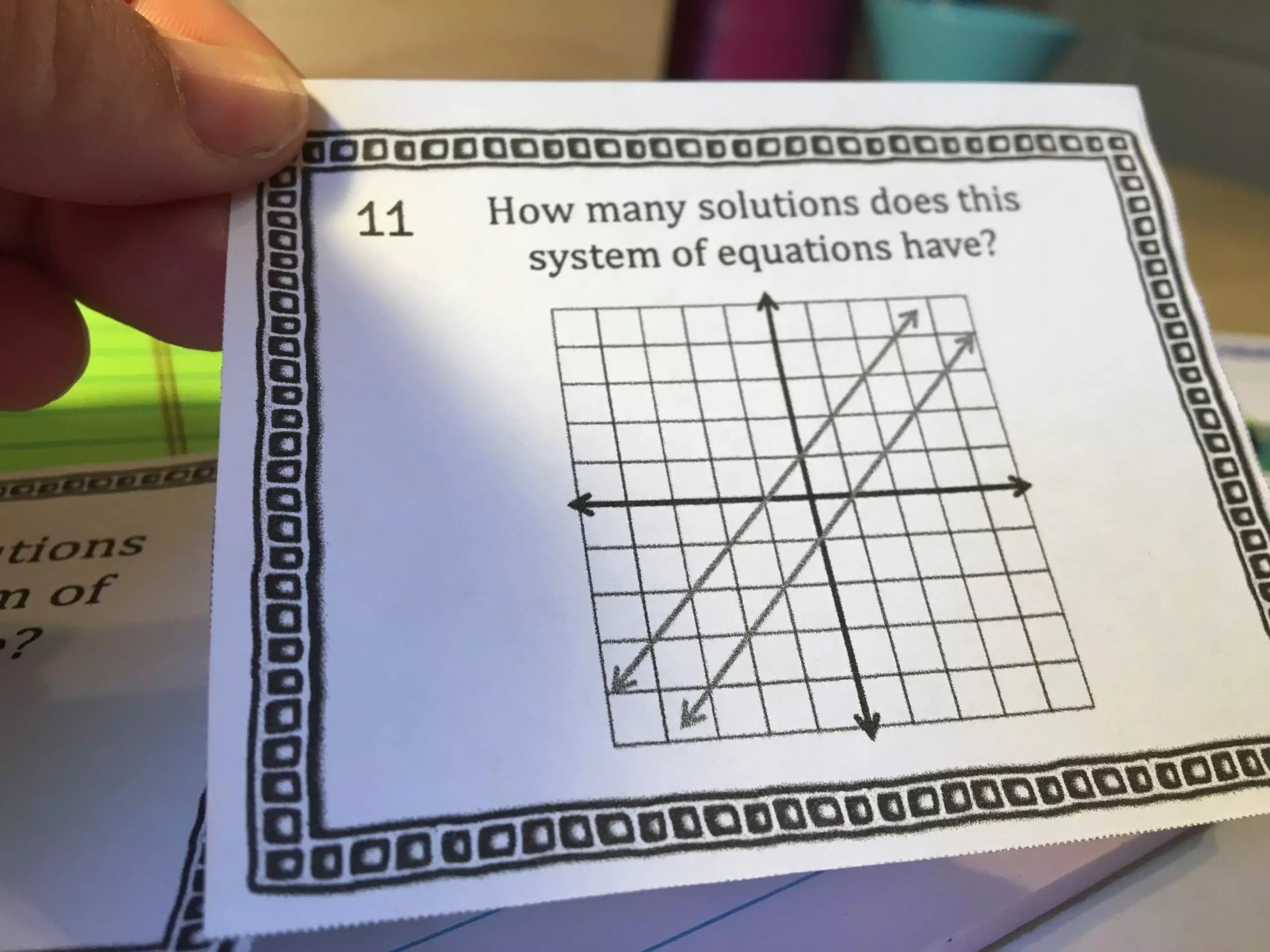 Systems of Equations Task Cards- Task cards provide a wide range of practice opportunities for students and a great alternative to traditional worksheets. Ideas at ideagalaxyteacher.com