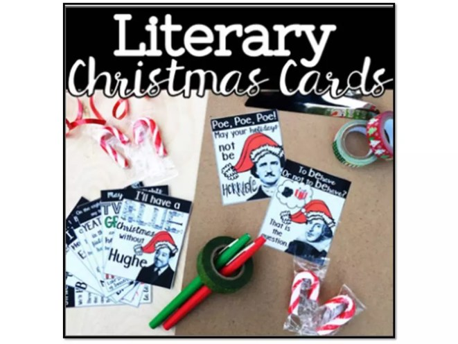 Greeting Cards- one of 5 Christmas math activities for the week before winter break.