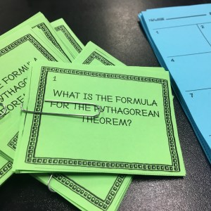 How to use I can statements to inform your instruction for teaching Pythagorean Theorem. Great way to plan learning targets & get students tracking their learning.