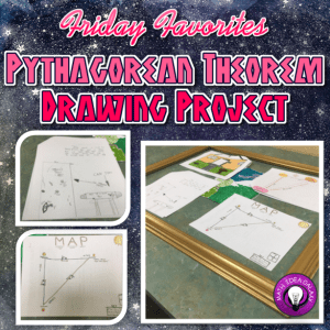Activities and resources for teaching about the Pythagorean Theorem. Includes ideas for real world applications, independent practice, and more.