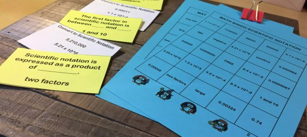 Read this blog post about 18 games to review for math in middle grades. Some great ideas for math test prep that are engaging and easy.