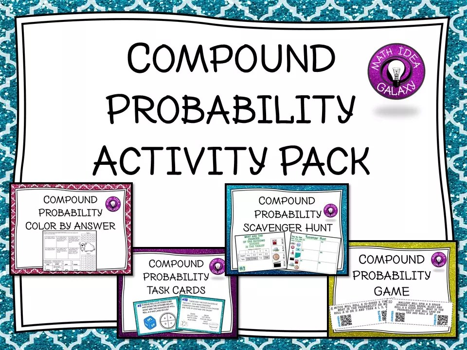 Read this blog post about easy and engaging activities for practicing compound probability.