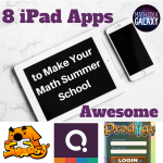 8 iPad Apps to Make Your Math Summer School Awesome