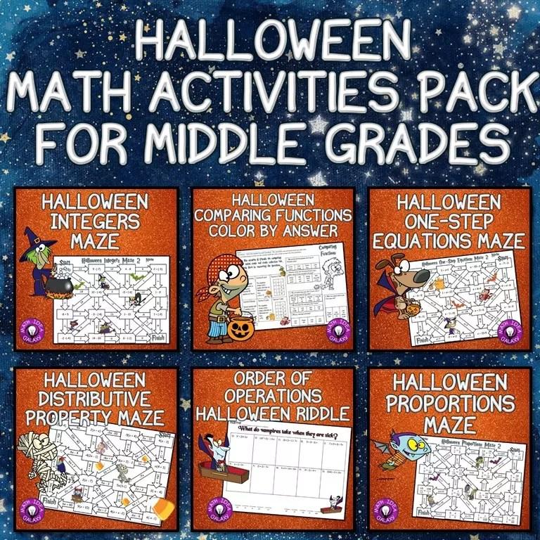 fun halloween math activities. 13 halloween math activities idea ...