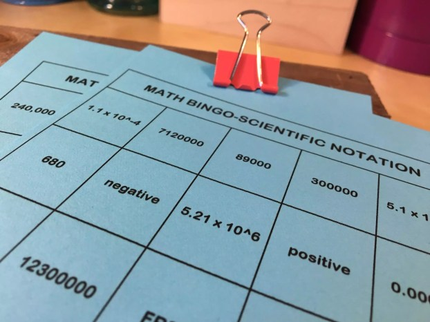 10 Activities to Make Practicing Scientific Notation Awesome - Idea ...
