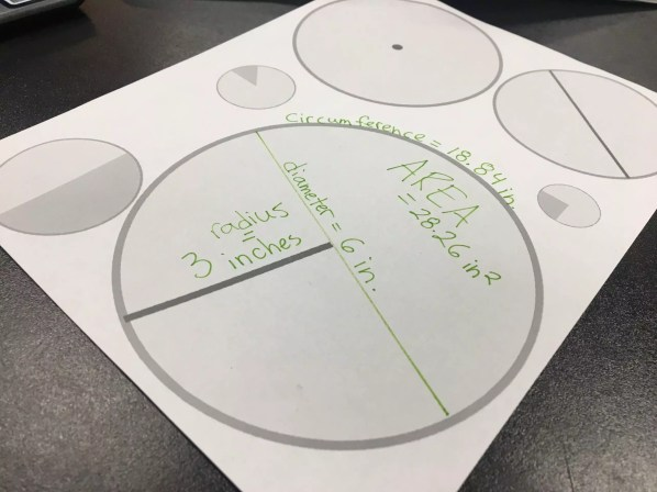 Get students hands on with this FREE area and circumference activity. Check out all 10 engaging activities for area & circumference of a circle. Includes online tools, print and go resources, and 2 FREE downloads.