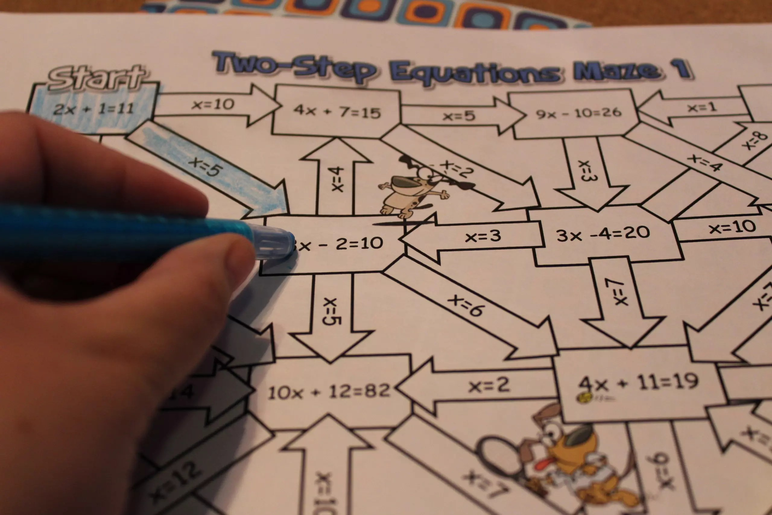 12 Activities That Make Practicing Two-Step Equations Pop - Idea Galaxy
