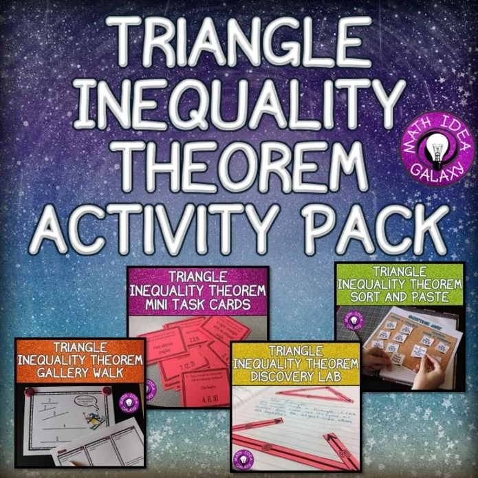 Bring the triangle inequality theorem to life with engaging activities. Check out 11 fun games, online resources, and easy to implement ideas for teaching about sides that make a triangle.