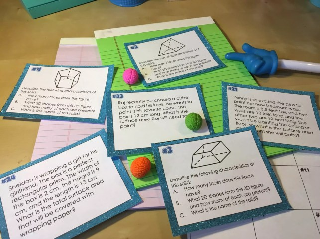 This step by step guide turns any task cards into a fun whole class math review game.