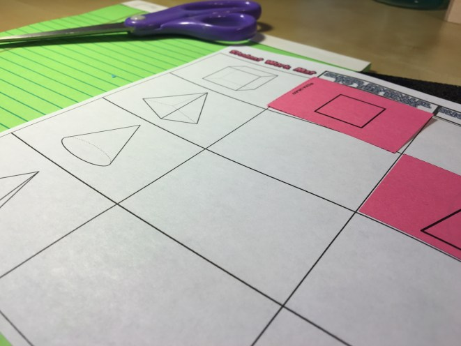 Students enjoy practicing cross sections of 3d shapes with this print and go matching activity. Check out all 12 engaging cross sections math activities, including FREE cross sections graphic organizer.