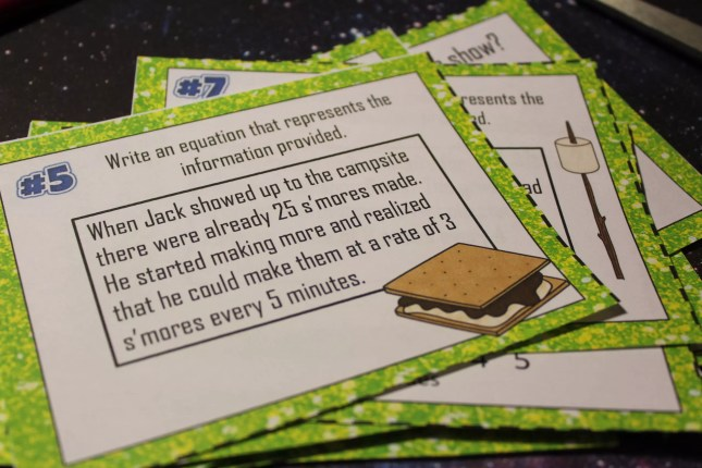 Task cards are the go-to resource in my classroom. They're perfect for playing math review games like math football. Check out this step by step guide to playing this engaging review game!