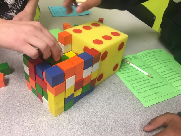 This discovery activity gets students hands-on with the volume of prisms. Check out all 13 activity ideas to make practicing volume of prisms & pyramids engaging and fun.